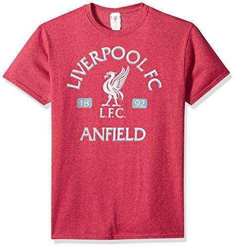 iverpool FC Vintage Reds Men's Tee, Heather, XXX-Large ()