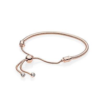 Pandora Women Vermeil Hand Chain Bracelet - 587125CZ-2 HfzfjMsQR
