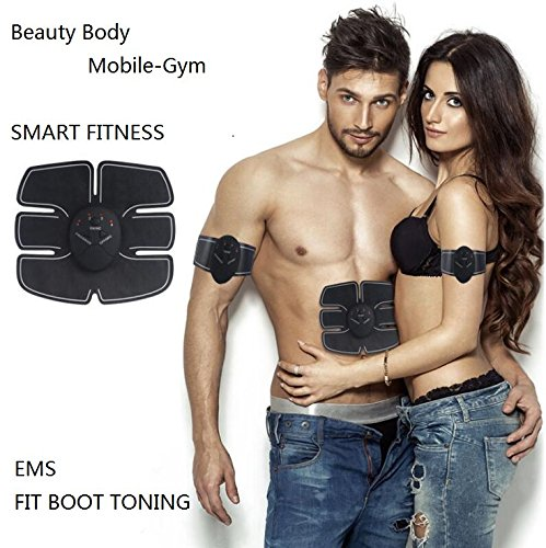 Ab trainer,Fitness Slimming Body Sculptor Muscle ,Abdominal muscles Exerciser Belts,Ab trainer Trainer Butterfly Ab Gymnic Belt Massager Pad Fat Burner