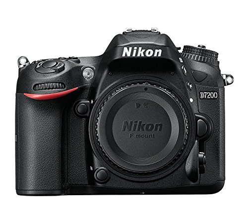 Nikon D7200 DX-format DSLR Body (Black) Travel and Landscape Lens Kit...