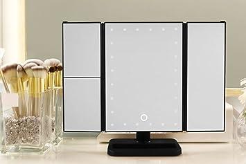 Spiegel Make Up : Xshelley led lichtern make up spiegel dimmbar vanity