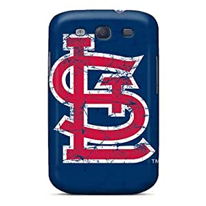 Durable Case For The Galaxy S3- Eco-friendly Retail Packaging(st. Louis Cardinals)