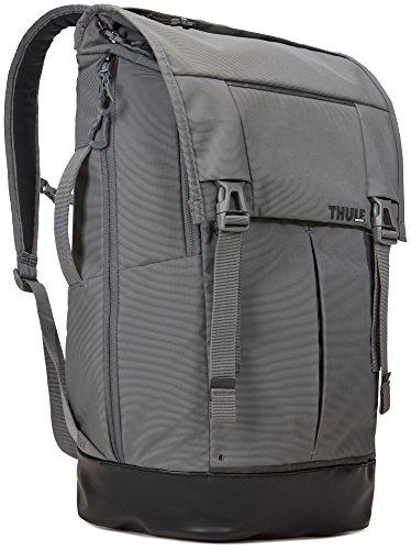 Thule 153953 Paramount Rucksack (Großes Laptop/Tablet-Fach, SafeZone-Fach, Robustes 420D-Nylon) Grau, 29L Smoke