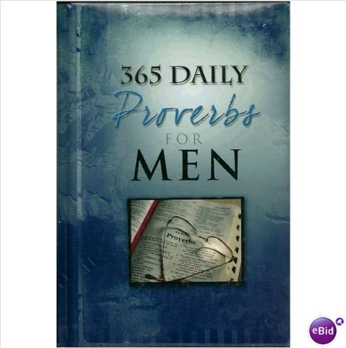 365 Daily Proverbs for Men PDF