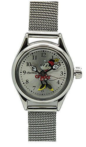 Ingersoll Women's IND 26524 Petite Minnie Analog Display Quartz Silver Watch