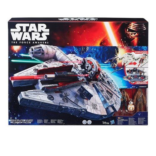Star Wars Episode 7 - B3678eu40 - Figurine Cinéma - Millenium Falcon