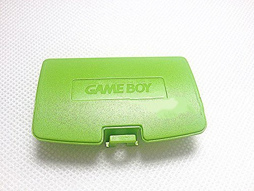 Cover Color Battery Game Boy (Vivi Audio Battery Cover Lid for Gameboy Color GBC Game Boy Colour Replacement Lime Green)