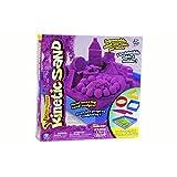 Wacky-tivities Kinetic Sand - 1lb Purple Sand w/ Sand Box and Molds Shapes by Kinetic Sand