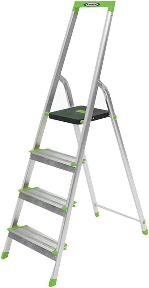 ZHAOYONGLI Escalera Plegable de 4 peldaños con protección de bisagra multifunción, Escalera de extensión de aleación de Aluminio Gruesa y ampliada: Amazon.es: Juguetes y juegos