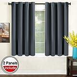 TEKAMON Blackout Curtains Thermal Insulated Grommet Draperies Room  Darkening Panels For Living Room, Bedroom,