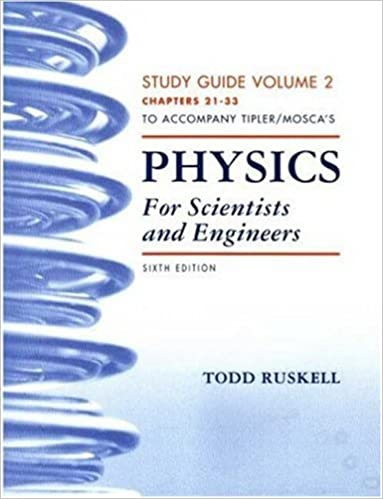 Physics for Scientists and Engineers Study Guide and Student Solutions Manual