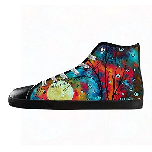 Custom paisley Mens Canvas shoes I lacci delle scarpe in Alto sopra le scarpe da ginnastica di scarpe scarpe di Tela. Aclaramiento Populares Paquete De Cuenta Regresiva sur7xKCB