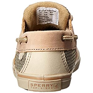 Sperry Bluefish Crib Boat Shoe (Infant/Toddler), Linen/Oat, 2 Infant M