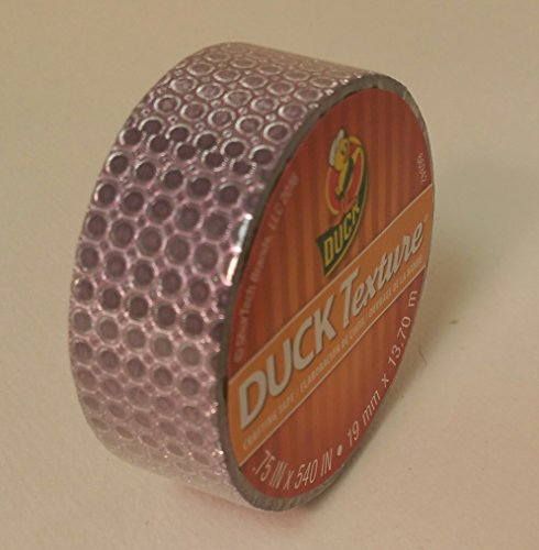 Duck Texture Duck Brand Tape .75 in X 15 yds decorative tape (Purple Dot) Texture Dots