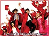 "Single Source Party Supply - High School Musical Edible Icing Image #1-8.25"" Round"