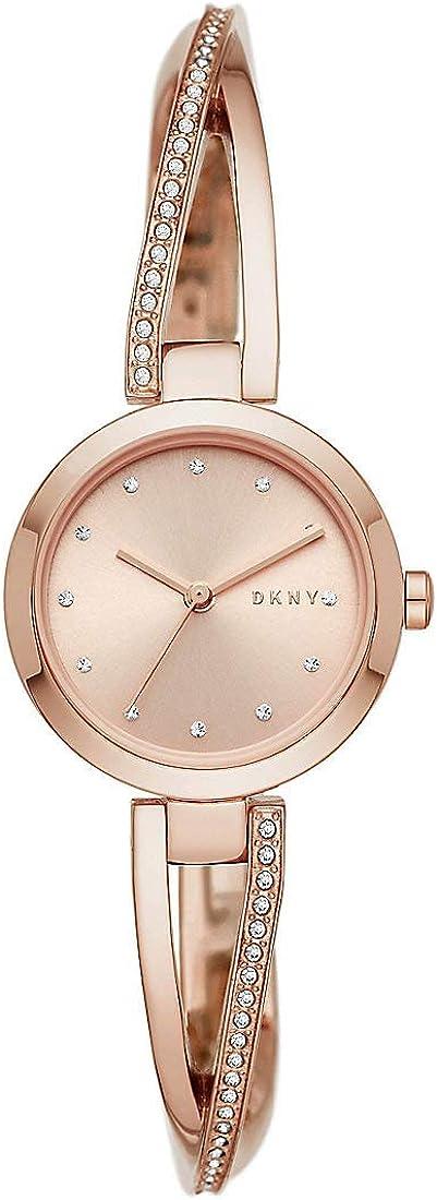 DKNY 32010656 - Reloj analógico de cuarzo para mujer (acero inoxidable)