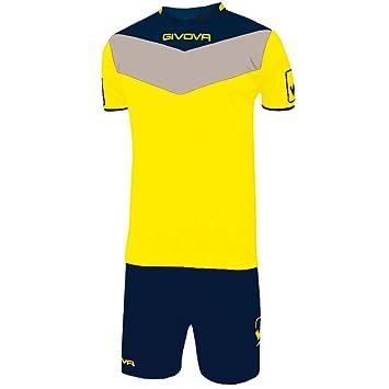 givova kitc53, Camiseta y Pantalón Corto De Fútbol Unisex Adulto: Amazon.es: Deportes y aire libre