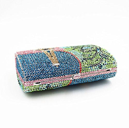 Colourful1 Pochette Chief pour femme Chirrupy w4nFI5Wq77