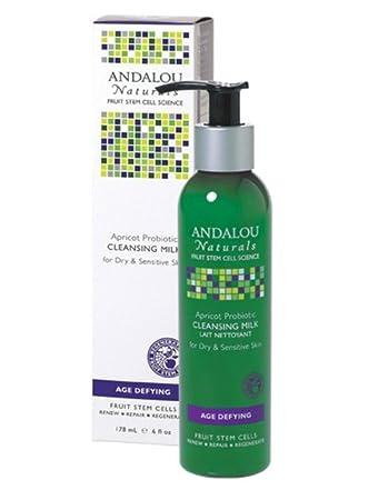 Age-Dyfing Apricot Probiotic Cleansing Milk - 6 fl. oz. by Andalou Naturals (pack of 4) Haute Beaute Corps Serum Expert Reducteur Contours Contour Refiner Expert Serum 6.7oz