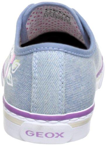 Geox J CIAK GIRL W J3204W00013C4051 - Zapatillas de deporte de fieltro para niña Azul