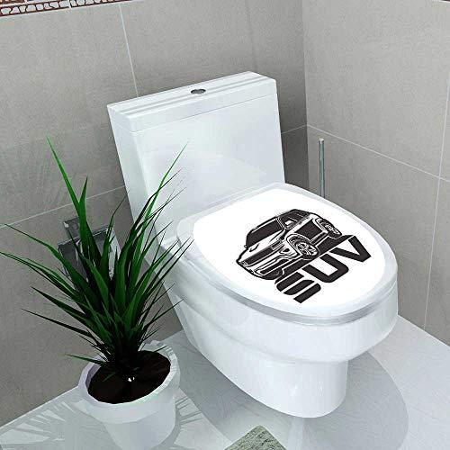Vinyl Decal Suv Logo Design Car Crossover Vector Decoration Bathroom Toilet W13 X L18