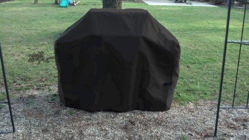 Weber Genesis Grill Cover - Sunbrella Black