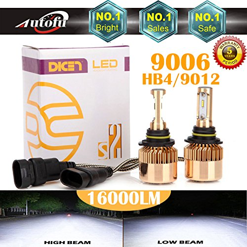 9006 bright white headlight bulb - 1