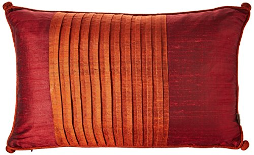 IMAX 42171 IK Nodia Thai Silk Pillow with Down Fill by Imax
