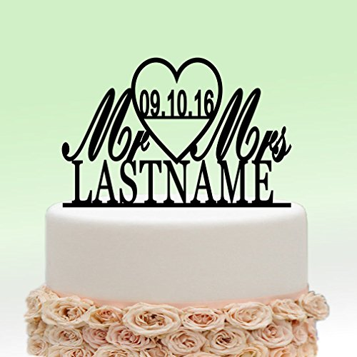 last name wedding cake toppers last name wedding cake toppers 16722