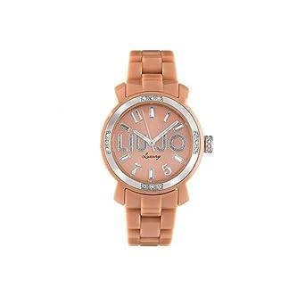 Liu Jo Luxury Miami TLJ128 - Reloj, color beige: Amazon.es ...