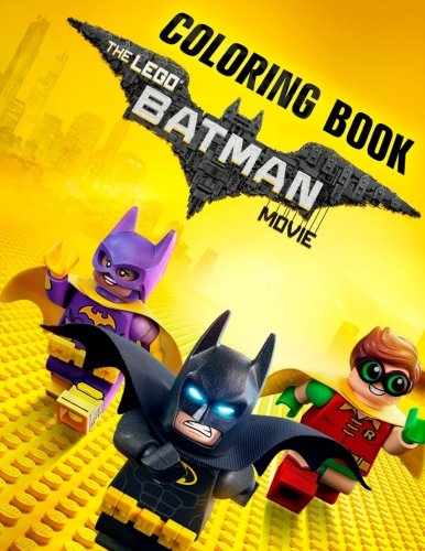 Amazon LEGO BATMAN The MOVIE Coloring Book High Quality Illustrations 2017 9781979548090 Pro Lego Books