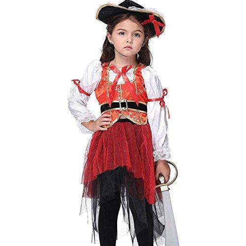 Gowind7 Halloween Children Kindergarten Girls Dancing Dress Cosplay Costumes(XL) for $<!--$18.22-->