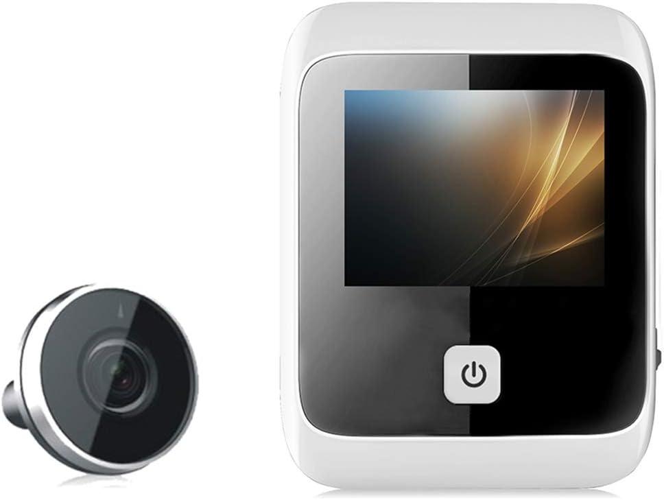 3in LCD-Bildschirm T/ürspion mit hoher Pixelanzahl mit Weitwinkel T/ürklingel Sicherheitskamera LTJX Digitaler T/ürspion