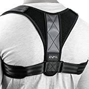 BACK POSTURE CORRECTOR WITH ADJUSTABLE HOOK-AND-LOOP FASTENERS: BEFORE PLACING AN ORDER CONSULT THE SIZE CHART FROM THE PHOTOS SECTION: Do you feel you need a help to get back the natural posture that has now replaced by a humpback? Or you need suppo...