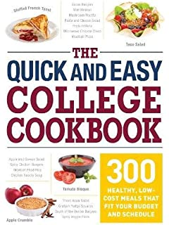 Quick and easy recipes for college