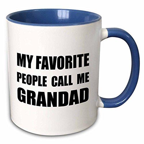 3D Rose 6 mug_232513_6 Ceramic, - Grandad Mug