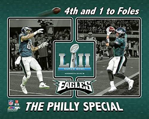 Philadelphia Eagles  quot The Philly Special quot  4th and 1 to Nick Foles Super  Bowl cd9df1f38
