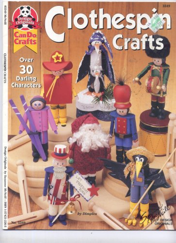 Clothespin Crafts (Design Originals Can Do Crafts, 3349)