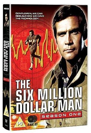 The Six Million Dollar Man Season One 6 Dvds Uk Import Amazon De Lindsay Wagner Lee Majors Richard Anderson Farrah Fawcett Richard Donner Richard Irving The Six Million Dollar Man Season 1