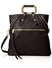 Cynthia Rowley Women's Abbey Convertible Tote, Black