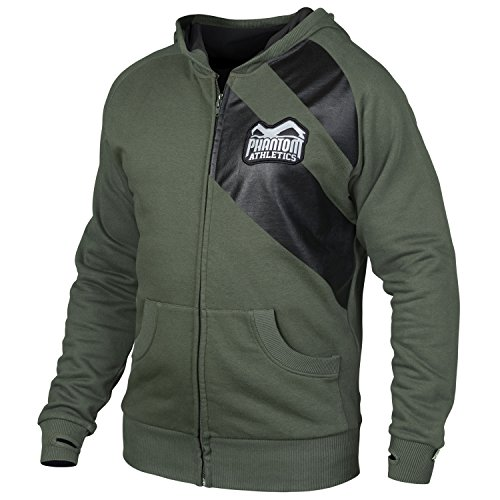 "Phantom Athletics Zip-Hoodie ""Elite"" - Green"