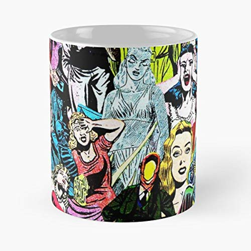 Vintage Ho - Morning Coffee Mug Ceramic Best Gift ()