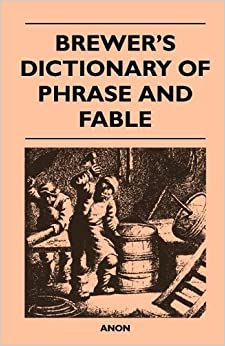 Book Brewer's Dictionary of Phrase and Fable
