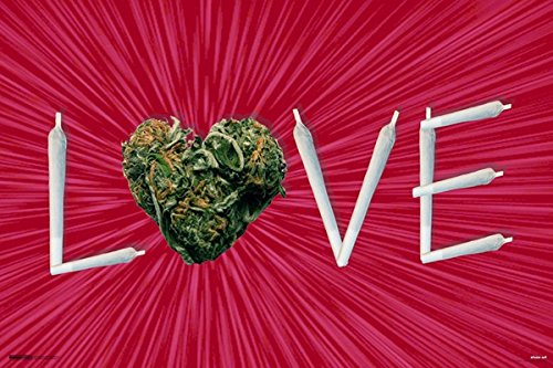 Steez Weed Love Joint Letters Pot Marijuana Cannabis Reefer
