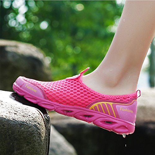 Water Slip Rose On Mesh Shoes Women's Art Ultifree ax4fII