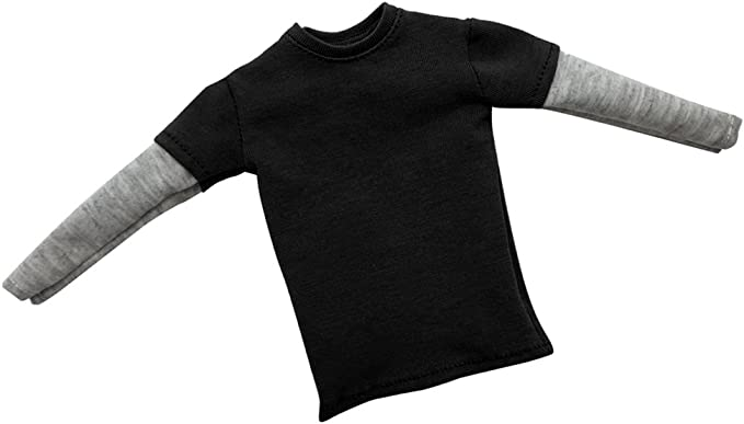 """1:6 Male Short//Long Sleeve T-shirt Top Clothes for 12/"""" Action Figure Accessories"""
