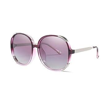 df12e849c7 Jolly Gafas de Sol Retro polarizadas para Mujer Protección UV400 Que  conducen el Marco de Acetato de Gafas al Aire Libre (Color : Púrpura):  Amazon.es: ...