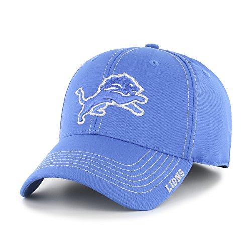 NFL Detroit Lions Adult Start Line Ots Center Stretch Fit Hat, Large/X-Large, Blue Raz