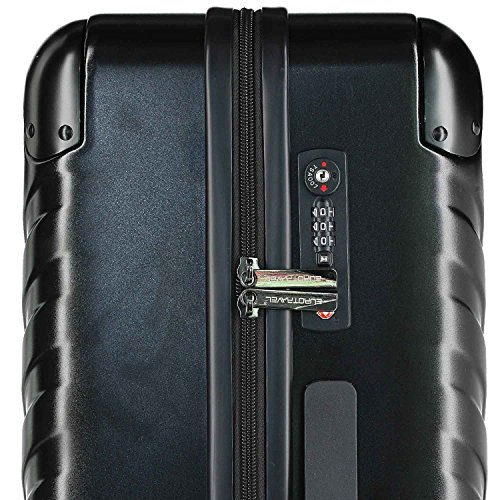 Eurotravel 4 Rollen Koffer 66cm black