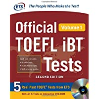 Official TOEFL IBT testes. Con DVD-ROM: Official TOEFL iBT® Tests Volume 1, 2nd Edition